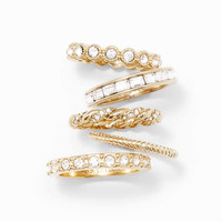 Deco Stackable Rings
