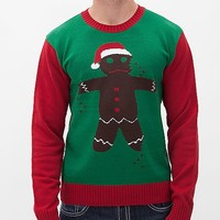 Ugly Christmas Sweater Gingerbread Man Sweater