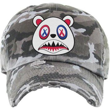 USA Baws Black Camo Dad Hat