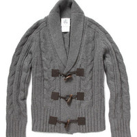 Black Fleece Horn Toggle Cardigan | MR PORTER