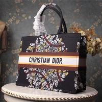 DIOR BAG Women Fashion Satchel Tote Shoulder Bag Handbag size:42*32*16