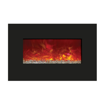 Amantii Built-in / Wall Mounted Electric Fireplace ( Enhanced, WM‐BI‐26‐3623)