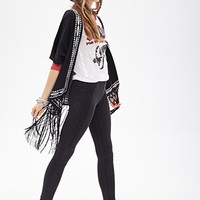 FOREVER 21 High Waist- Quilted Moto Jeggings Charcoal