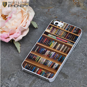 Book Library iPhone 5|5S Case|iPhonefy