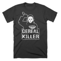Cereal Killer T-Shirt Funny Food Tees