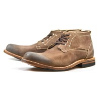 Lee Chukka Taupe Suede
