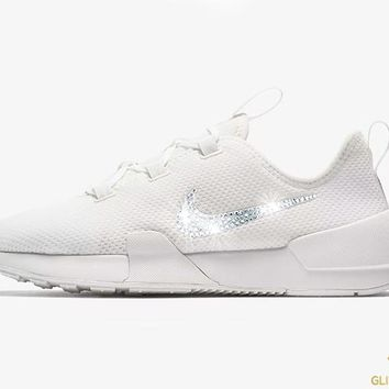 CLEARANCE - Nike Ashin Modern Run + Crystals - White - Size 8 (Slight  yellowing c34677701