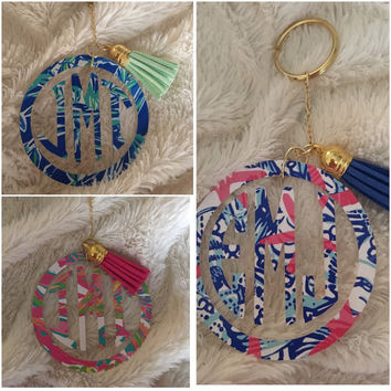 Lilly Pulitzer Steering Wheel Cover By From Mammajane On Etsy