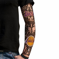 Fans Ink Tattoo Sleeve - Los Angeles Lakers (For Light Skin)