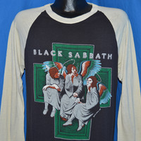 80s Black Sabbath Heaven and Hell 1980 t-shirt Large
