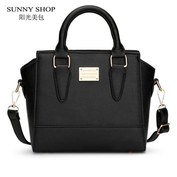 SUNNY SHOP  Cute Women Messenger Bags Small  PU leather Shoulder Bags Ladies Hand Bags crossbody bag