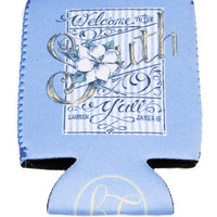Welcome to the South Koozie by LAUREN JAMES {Blue}