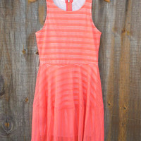 Coral Drifter Dress [7312] - $29.40 : Feminine, Bohemian, & Vintage Inspired Clothing at Affordable Prices, deloom