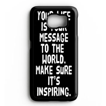 Yolo Quotes Your Life Samsung Galaxy S4 Galaxy S5 Galaxy S6 Edge Case | Note 3 Note 4 Note 5 Case