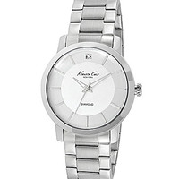 Kenneth Cole New York Rock Out Bracelet Watch - Silver