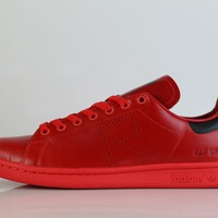 BC KUYOU Adidas X Raf Simons Stan Smith Red Black BA7377