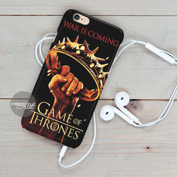 Crown Game Of Thrones War Is Coming  iPhone Case Cover Series