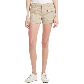 J Brand Womens Kai Deep Front Pockets Cuffed Cargo Shorts