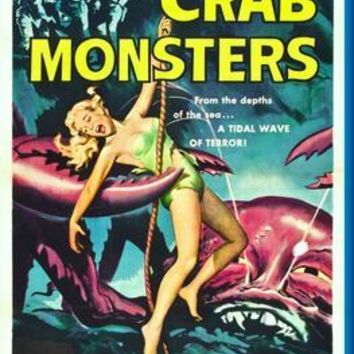 "Attack Of Crab Monsters poster 24""x36"""