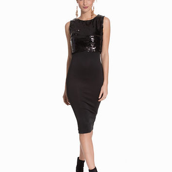Sequin Midi Dress, Ax Paris