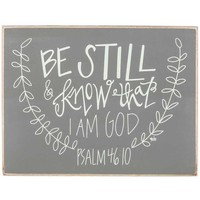 Psalm 46:10 Wood Sign | Hobby Lobby | 1135698