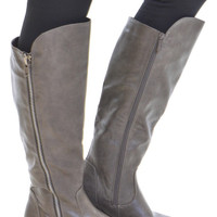 Along For The Ride Boots - Grey