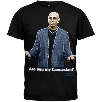 Curb Your Enthusiasm - Are You My Caucasian Soft T-Shirt