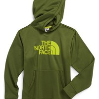 Boy's The North Face 'Logo Surgent' Fleece Pullover Hoodie