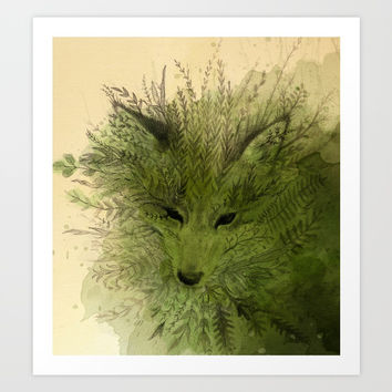 A Spirit Art Print by Leslie Evans