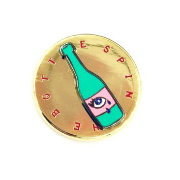 Spin The Bottle Pin