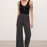 Kimchi Blue Robyn High-Rise Pinstripe Flare Pant