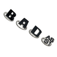 4 Ring Word Pack - Mens Jewelry - Men's Accessories - TOPMAN USA