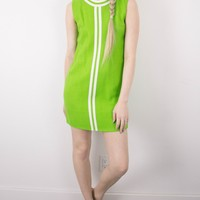 Vintage 60s Mod Mini Shift Dress