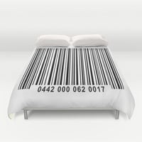 Barcode 1 Duvet Cover by Bruce Stanfield