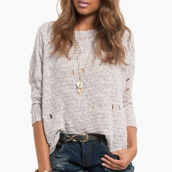 Getting Knitty Sweater $42