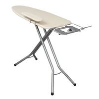 Household Essentials Fibertech Wide Top Ironing Board (Grey)