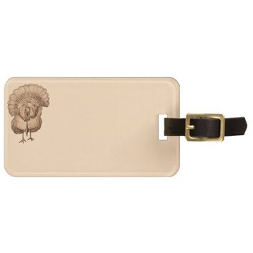 Tom Turkey Design on Luggage Tags