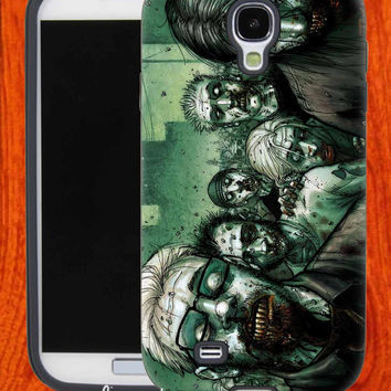 Green Zombie,Accessories,Case,Cell Phone,iPhone 4/4S,iPhone 5/5S/5C,Samsung Galaxy S3,Samsung Galaxy S4,Rubber,29-11-17-Bn