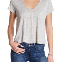 Lush | V-Neck Pocket Tee | Nordstrom Rack