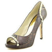 Michael Kors Women's Ella Peep Toe Pump Shoe - 7M