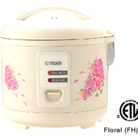 Tiger JAZA10U Rice Cooker 5.5 Cup Steamer Pan