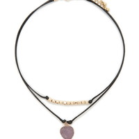 Faux Stone Choker Set | Forever 21 - 1000186247