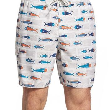 Men's Quiksilver Waterman Collection 'Pier 20 7 Inch' Board Shorts,