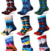 Socks - Argyle (20 Colors)