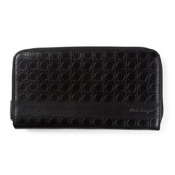 Salvatore Ferragamo Gancio embossed wallet