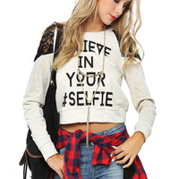 Papaya Clothing Online :: BELIEVE IN YOUR SELFIE GRAPHIC TOP