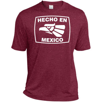 Hecho En Mexico Funny T-Shirt Mexican Humor  TST360 Sport-Tek Tall Heather Dri-Fit Moisture-Wicking T-Shirt