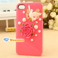 Designer iphone case peace dove phone case best i phone 4 case i phone 4s case i phone case iphone case for cell phone
