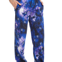Doctor Who Galaxy TARDIS Guys Pajama Pants