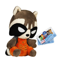 Rocket Raccoon Mopeez Marvel Plush